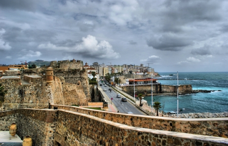 Royal fortress of Ceuta in Africa