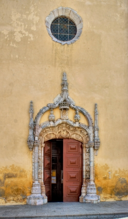 alentejo: Door Church in Moura, Alentejo