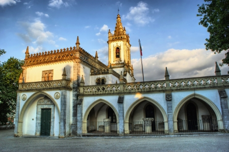 O antigo convento em Beja, Portugal
