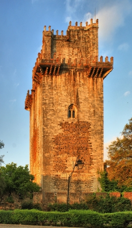 Ancient castle tower in Beja, Portugal Stock Photo - 20878232