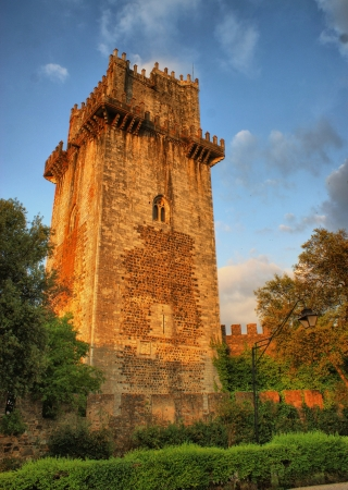 Ancient castle tower in Beja, Portugal Stock Photo - 20878233
