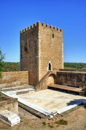 Old Mertola castle in Alentejo, Portugal Stock Photo - 21631712