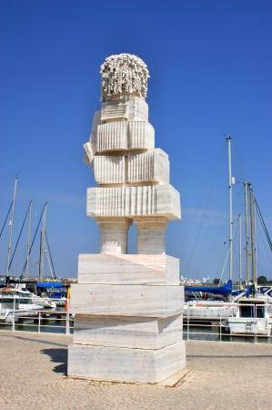 Marqu�s de Pombal statue by Joao Cutileiro Stock Photo - 21632410