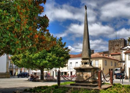 resistence: Square in Vila Nova de Cerveira, Portugal