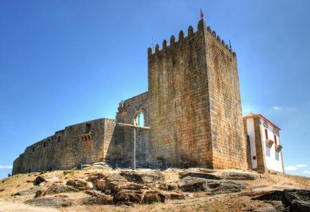 belmonte: Belmonte castle in Portugal Editorial