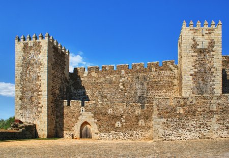 Sabugal castle in Portugal
