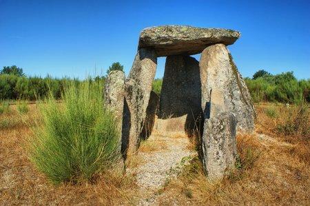 Dolmen Pedra da Orca em Gouveia, Portugal