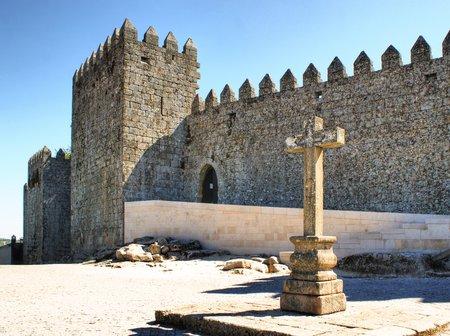Trancoso castle in Portugal