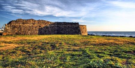 Carreco fortress in Viana do Castelo, Portugal