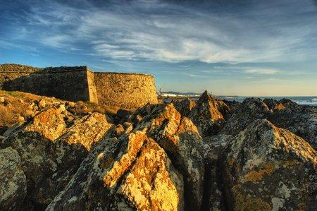 Carreco fortress in Viana do Castelo, Portugal Stock Photo - 32456145