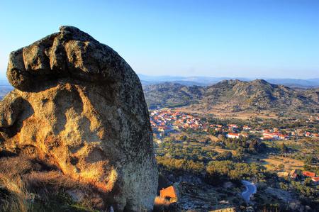 Historical village of Monsanto, Portugal photo