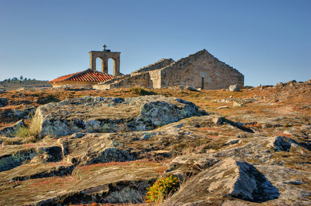 Ruins in historical village of Castelo Mendo, Portugal Stock Photo - 35362375