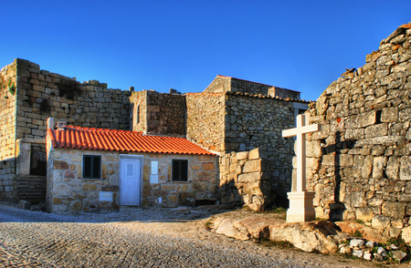 Historical village of Castelo Bom, Portugal Stock Photo - 35932811