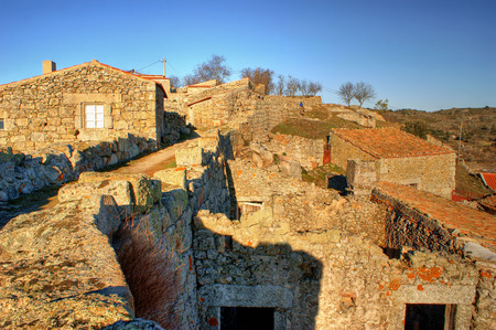 Historical village of Castelo Bom, Portugal Stock Photo - 35932823
