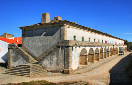 barracks: Former military barracks in Almeida historical village, Portugal