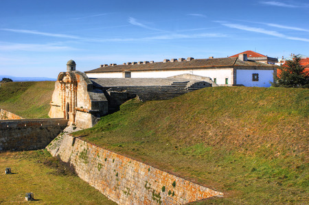 Almeida historical village and fortified walls in Portugal Stock Photo - 37083090