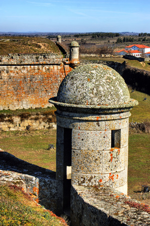 Almeida historical village and fortified walls in Portugal Stock Photo - 37083092