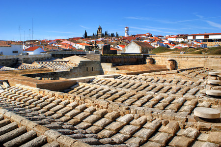 Almeida historical village and fortified walls in Portugal Stock Photo - 37108840