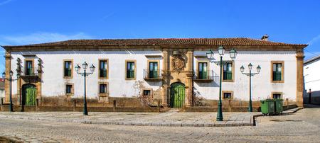 Manor house of Saraivas in Vilar Torpim, Portugal Stock Photo - 38615373
