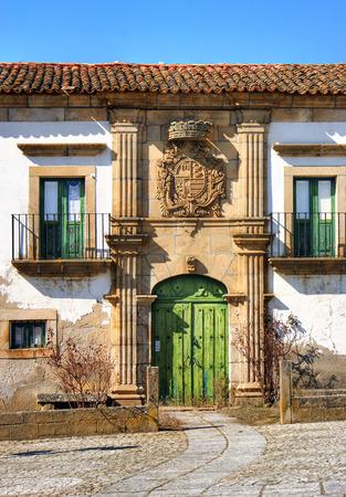 Manor house of Saraivas in Vilar Torpim, Portugal Stock Photo - 38615377