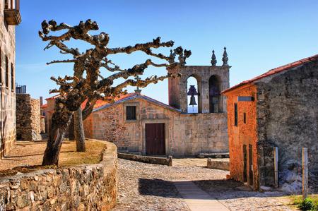 Rocamador church in Castelo Rodrigo, Portugal Stock Photo - 38615439