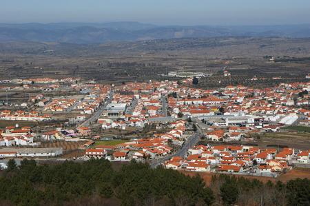 scenary: Figueira de Castelo Rodrigo, Portugal