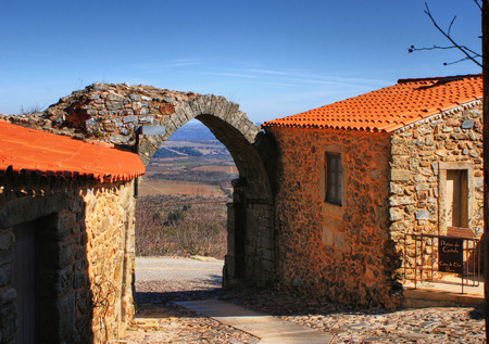 Castelo Rodrigo historical village in Portugal Stock Photo - 38559862