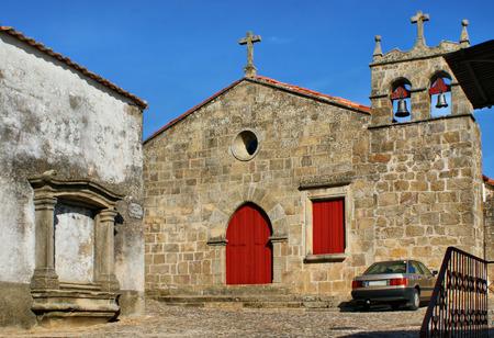 Santa Maria do Castelo church in Pinhel, Portugal Stock Photo - 38923384