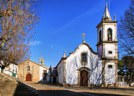 Saint Louis church in Pinhel, Portugal Stock Photo - 38923392