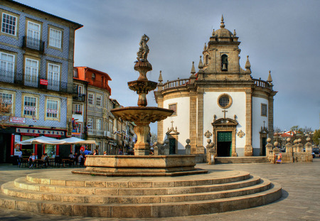 Senhor da Cruz church in Barcelos, Portugal