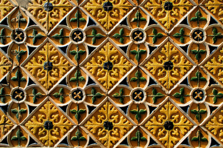 Traditional tile in Barcelos Stock Photo - 44563805