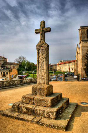 The Cross of the Lord of the Rooster in Barcelos, Portugal