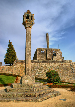 Barcelos pillory in north of Portugal Stock Photo - 44563811