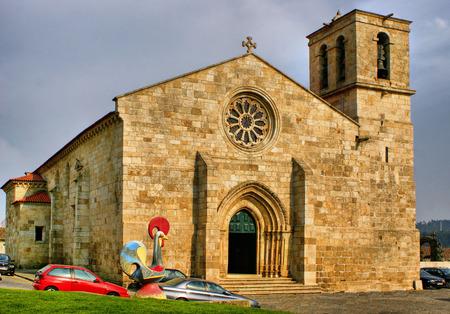 Matriz church of Barcelos in Portugal Stock Photo - 44563812