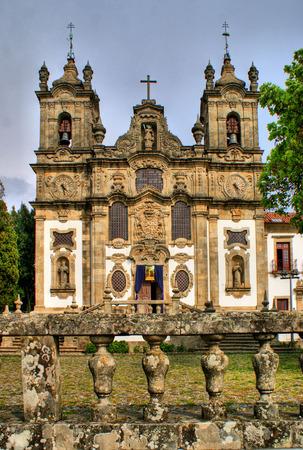 Santa Marinha convent, in Guimaraes, north of Portugal. Stock Photo - 46359194