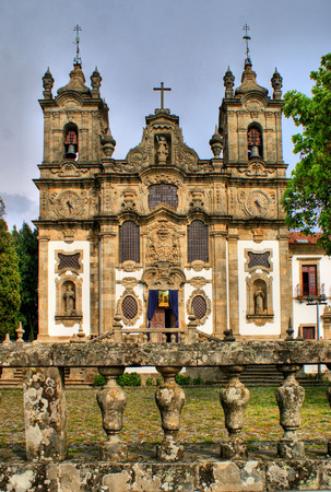 Santa Marinha convent, in Guimaraes, north of Portugal.