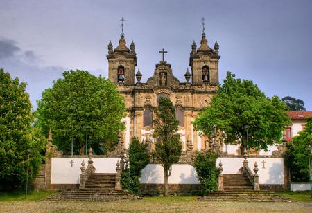 Santa Marinha convent, in Guimaraes, north of Portugal. Stock Photo - 46359444