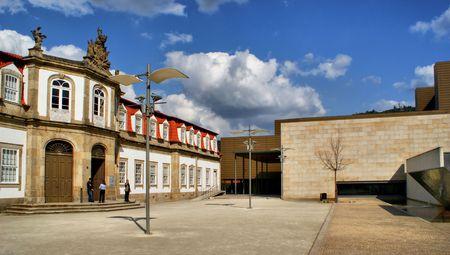 Vilaflor cultural centre in Guimaraes, Portugal Stock Photo - 47300800