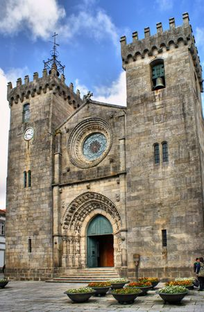 Se Cathedral of Viana do Castelo, Portugal Stock Photo - 47300802