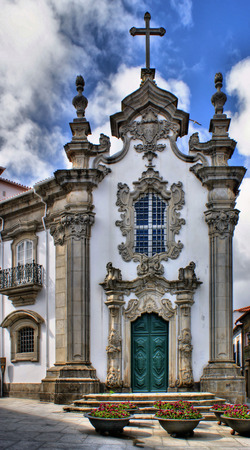 Malheiras chapel in Viana do Castelo, north of portugal Stock Photo - 48118332