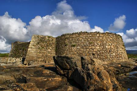 Cao fortress Gelfa in Vila Praia de Ancora, Portugal Stock Photo - 50391482