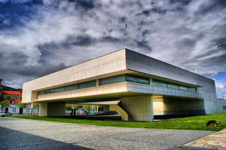 alvaro: Municipal Library in Viana do Castelo by Alvaro Siza Vieira, Portugal