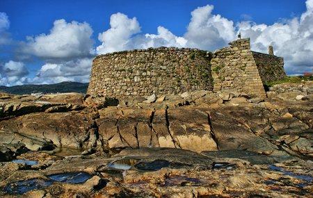 Cao fortress (Gelfa) in Vila Praia de Ancora, Portugal
