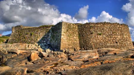 Cao fortress Gelfa in Vila Praia de Ancora, Portugal Stock Photo - 50391494
