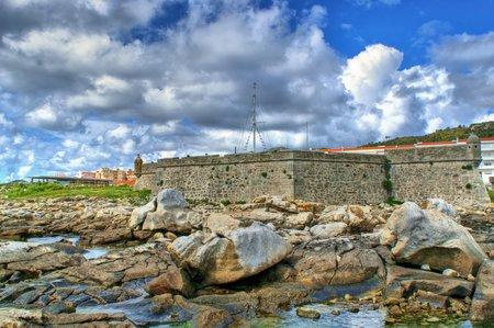 Lagarteira fortress in Vila Praia de Ancora