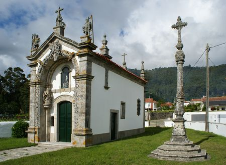 Senhor do Bonfim (Lord of Bonfim) chapel in Viana do Castelo, Portugal