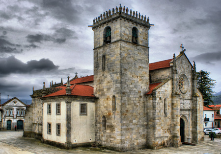 Gothic church of Caminha in Portugal