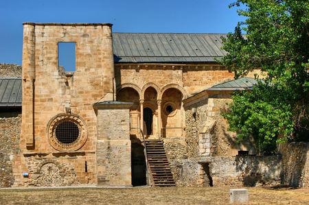Ruínas do monastério de Carracedo no Bierzo