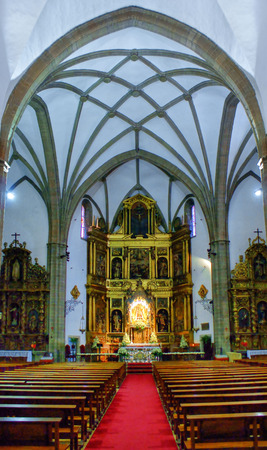 Basilica de la Encina in Ponferrada, Leon, Spain