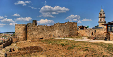Templar Castle of Ponferrada, Leon, Spain Editorial